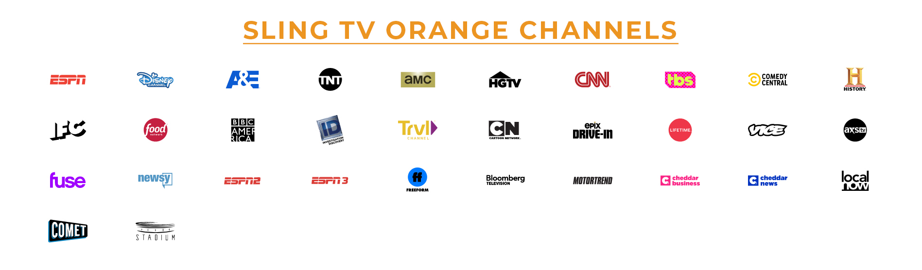 Sling TV Orange Package