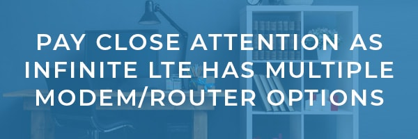 Infinite LTE Data Modem and Router Review