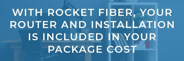 Rocket Fiber Modem and Router Review
